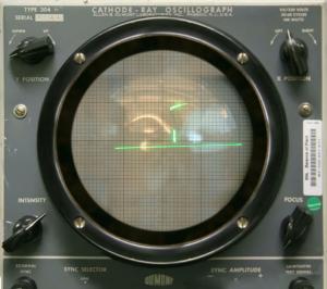 První elektronická hra vůbec byla na osciloskopu