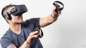 Brýle pro virtuální realitu Oculus Rift. Nadějný startup, který si získal svého kupce.
